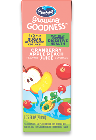 Cranberry Apple Peach Flavored Juice Beverage